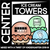 Counting to Ten | Math Center | Giant Ice Cream Towers