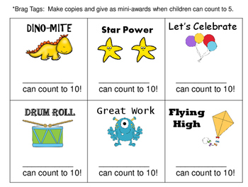 Counting to Ten:  Task Cards and Much More