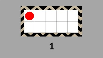 Counting to Ten on a Ten Frame PowerPoint Special Education Classroom Aphasic MD