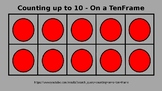 Counting to Ten on a Ten Frame PowerPoint Special Educatio