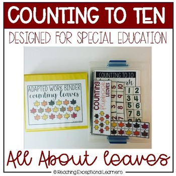 Counting to Ten with Leaves