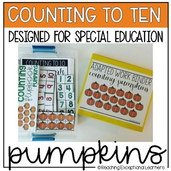 Counting to Ten with Pumpkins