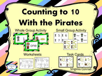 Counting to Ten with the Pirates