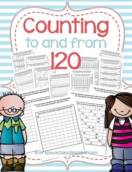 Counting to and from 120 (Forward & Backward)