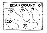 Counting up to 20. Bean Count (counting activity).