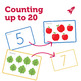 Counting up to 20 flashcards