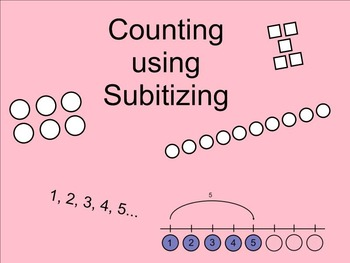 Counting using Subitizing SMARTnotebook
