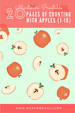 Apples! Early Math (1-10) Activities - Montessori Inspired