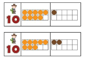 Counting with Cowboys and Cowgirls Composing and Decomposing Numbers