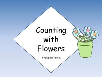 Counting with Flowers - Numbers