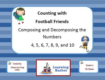 Counting with Football Friends - Composing and Decomposing Numbers