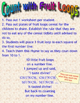 Counting with Fruit Loops