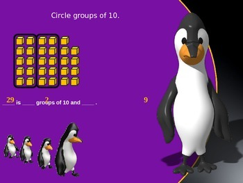Counting with Groups of 10 and Leftovers PowerPoint