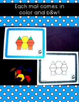 Counting to 20 with Pattern Blocks