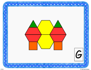 Counting with Pattern Blocks Freebie!