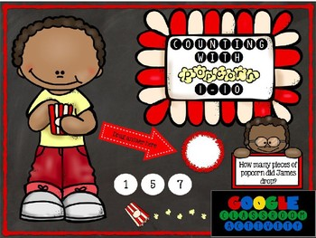 Counting with Popcorn 1-10