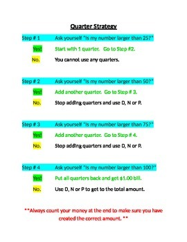 Counting with Quarters Strategy Guide
