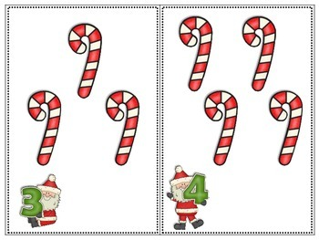 Counting with Santa (FREEBIE!)