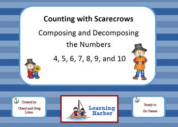 Counting with Scarecrows Composing and Decomposing Numbers
