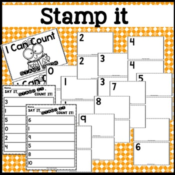 Counting with Stamps & Stickers Activity