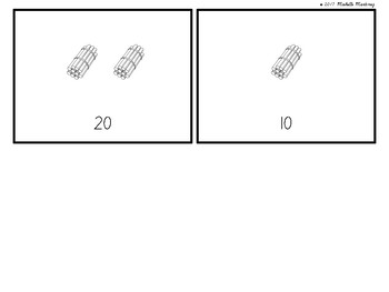 Counting with Stick Bundles of Tens: Printable