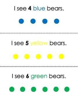 Counting with Teddy Bear Counters