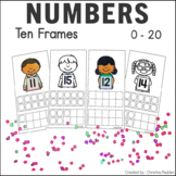 #harvestdeals Counting with Ten Frames 1-20