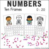 Back to School Ten Frames to 20