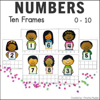 Ten Frames 0-10 Free