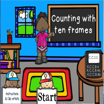 Counting with Ten Frames Power Point Game