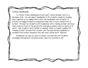 Counting with Turkeys