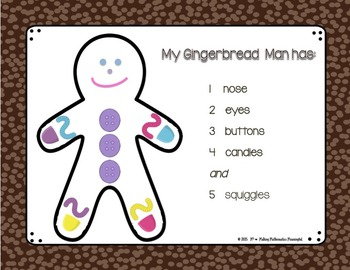 Counting with the Gingerbread Man!