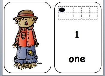 Counting with the Shy Scarecrow: Numbers 1 to 10
