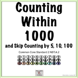 Counting within 1000- 5 Centers Ready to Use- 2nd Grade 2.NBT.A.2