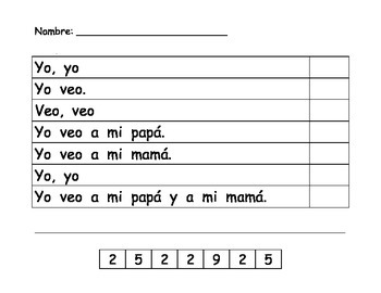 Counting words/Contando palabras