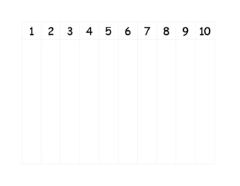 Counting worksheet