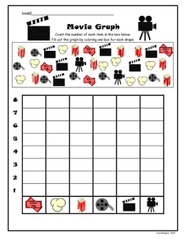 Counting/Graphing-Movie Theme