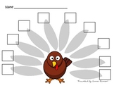 Counting/Writing 1-10 Turkey
