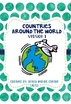 Countries Around the World - Social Studies Unit (Canada and USA)