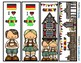 Countries Around the World Bookmark BUNDLE -  4 Designs of Each Country