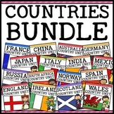 Countries Around the World Social Studies Units Growing Bundle