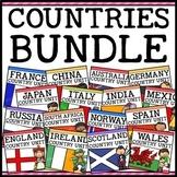 Countries Around the World Social Studies Units Bundle