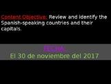 Countries & Capitals Presentations