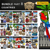 Countries Clip Art Bundle-part #7