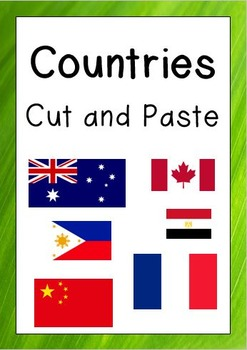 Countries Cut and Paste