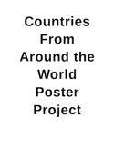 Countries From Around the World Poster Project