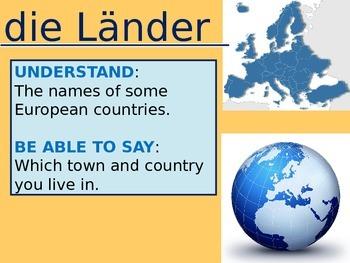 Countries (Länder)