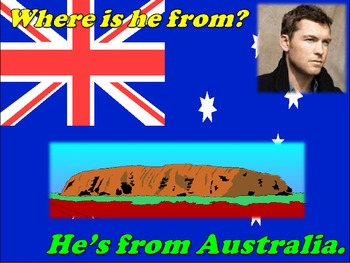 Countries PowerPoint lesson