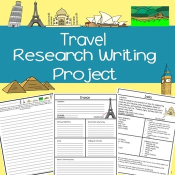 Travel Research Writing Project