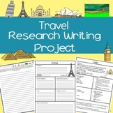 World Famous Cities Informational Writing Research Project, CCSS (4th-8th Grade)